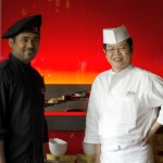 Chef Saito and his Assistant Chef Amit Sharma