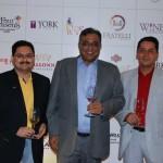 Sujeet Kumar (L), Dilip Puri (C) Vikas Malik (R)