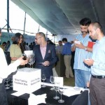 Folks trying wines at Wines of India at The Westin Pune Koregaon Park