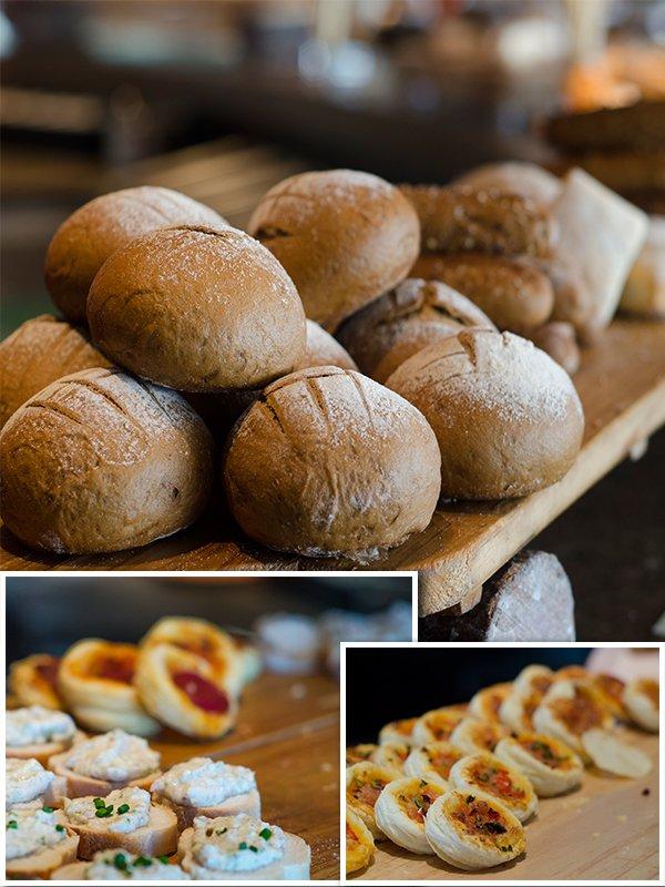Bread Counter & Derivatives @ Prego Brunch
