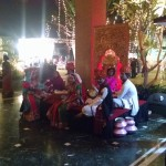 Live Rajasthani folk music and dancers keep diners entertained.