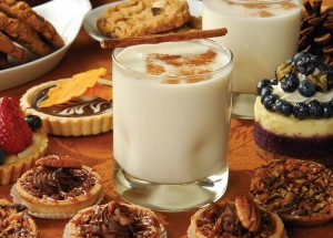 Some say Eggnog originated in Medieval Britain, a foggy, cold country where anything rich, milk and ale infused was always welcome.
