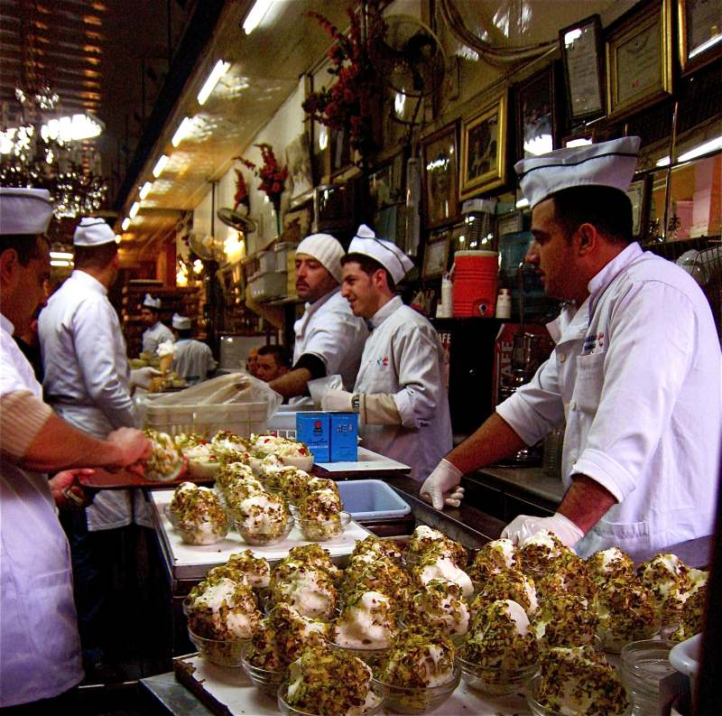 Bakdash_ice-cream_shop_in_the_old_souk_in_Damascus