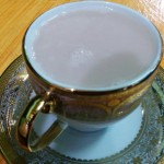 Tibetan Butter Tea is a local staple, but takes some getting used to.