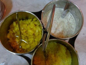Accompaniments rarely found outside Tamil homes