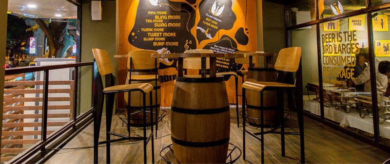 Beer Cafe, Bangalore, Beerrita, Margarita, Bira, Kingfisher, Höegaarden, Indiranagar
