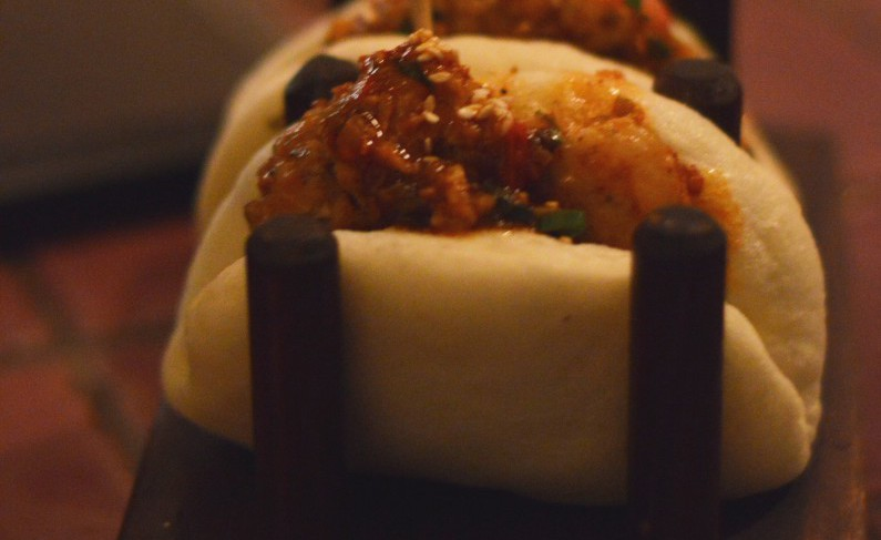 Chilli Crab and Prawn Bao