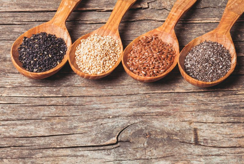These seeds are currently in vogue and people tend to religiously use them in daily meals but do be aware that they are also rich in good fats.