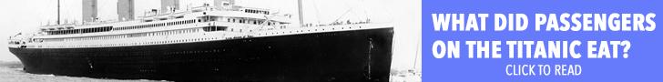 Titanic Menus