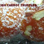 Turkish Carrot Truffles