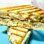 Paneer Cream Cheese Sandwich