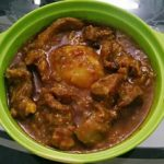 Mutton Curry With Potato