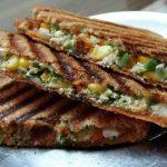 Cheesy Vegetable Sandwich