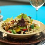 Shepherd's Salad With Caramelized California Walnuts