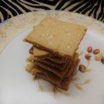 Whole Wheat Peanut Crackers