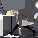 Desk jobs are bad for your heart and your waist