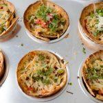 Open Burrito Muffin