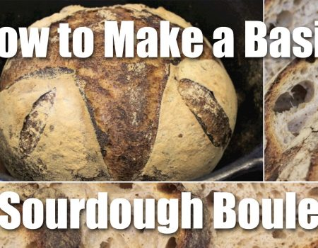How To Make A Basic Loaf Of Sourdough Bread
