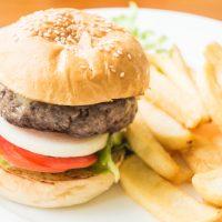 Juicy burger fiesta @ g77 café Indiranagar
