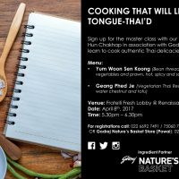 Learn to Cook like a Thai Food Expert at Renaissance Mumbai Convention Centre Hotel!