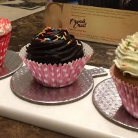 Cupcake festival at French Crust, The Suryaa