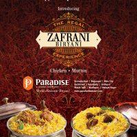 Feast like a Nizam at 'Zafrani Biryani Festival' by Paradise
