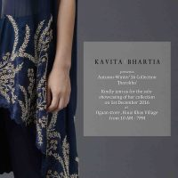 Kavita Bhartia Presents 'Jharokha': AW'16 Collection At Ogaan Store, Hauz Khas Village
